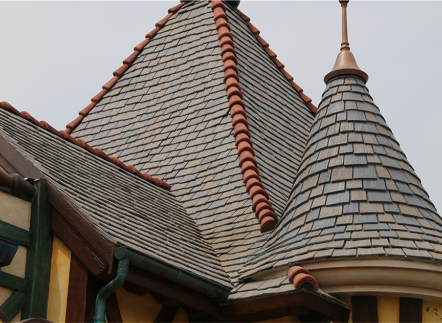 KEBA Synthetic Roofing Thatch Project